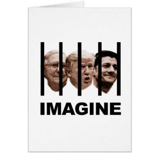 Imaginez l'atout, le McConnell et le Ryan derrière Carte De Vœux
