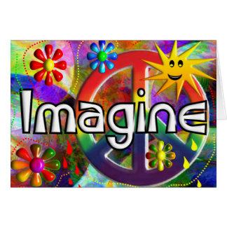 """""""Imaginez"""" les cadeaux des années 70 de Carte De Vœux"""