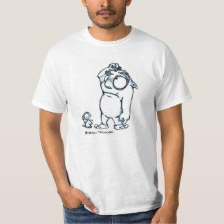 Imbécile et Unger faux de pied T-shirt