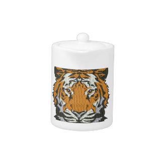 imitation de tigre de broderie