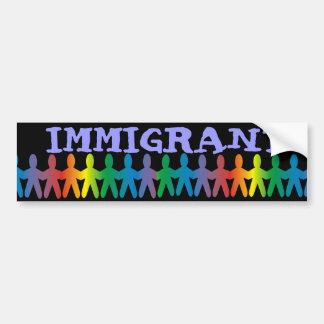 Immigré Autocollant Pour Voiture