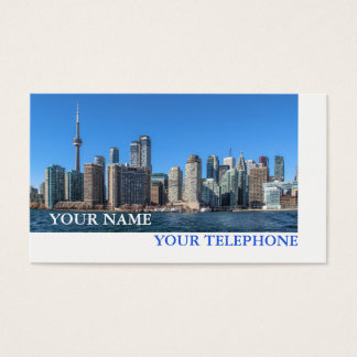 Immobiliers d'horizon de Toronto ou agent de Cartes De Visite
