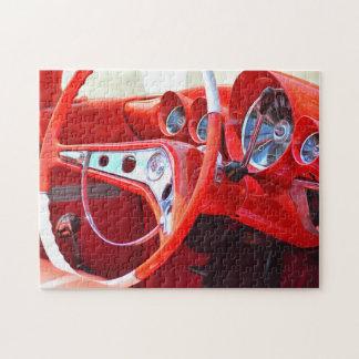 Impala rouge puzzle