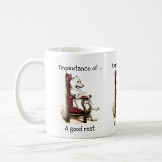 Impawtance d'une bonne tasse de repos