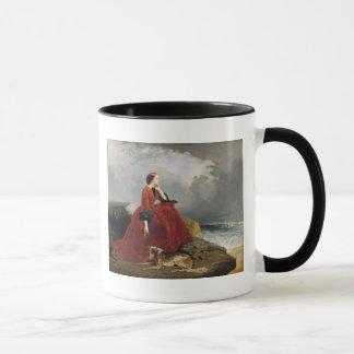Impératrice Eugenie à Biarritz, 1858 Mugs