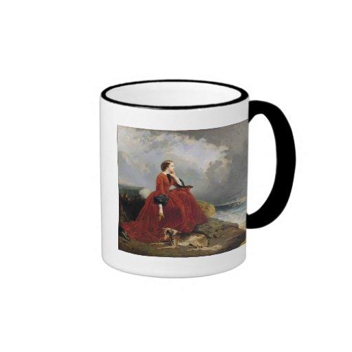Impératrice Eugenie à Biarritz, 1858 Mug