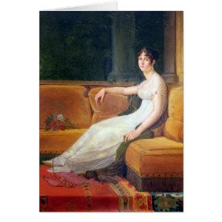 Impératrice Josephine chez Malmaison, c.1801 Carte De Vœux