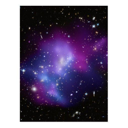 IMPERS J0717 de groupe de galaxie Cartes Postales