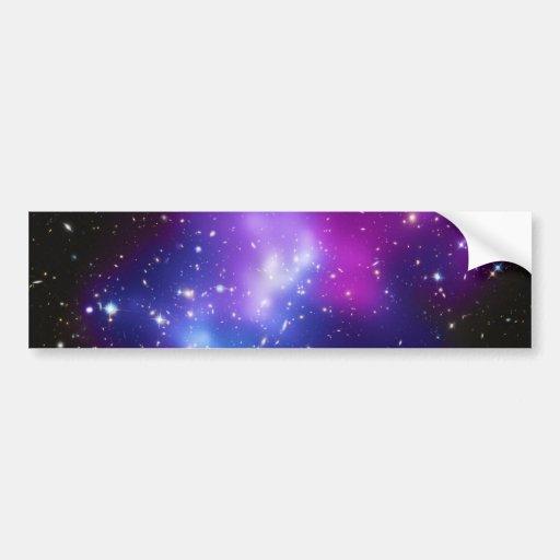 IMPERS massifs J0717 de groupe de galaxie Autocollant Pour Voiture