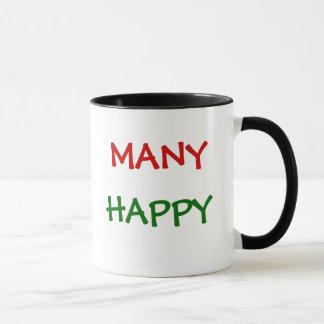 Impôt drôle heureux de beaucoup de déclarations mug