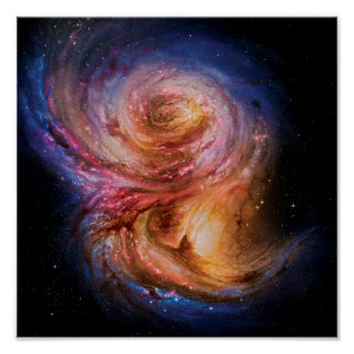 Impression d'artiste de la galaxie en spirale SMM