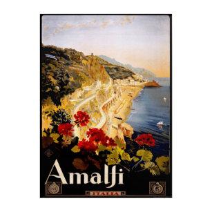 Impression En Acrylique (1910-20) affiches vintage de voyage de l'Italie