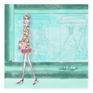Impression En Acrylique Avenue de Fashionista