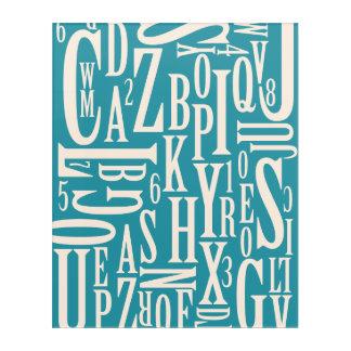 Impression En Acrylique Birchtype