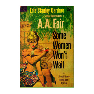 Impression En Acrylique couverture nouvelle de la pulpe 1953 que quelques