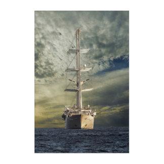Impression En Acrylique Cuirassé de navigation