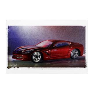 Impression En Acrylique Pastenague 2014 de Corvette