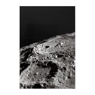 Impression En Acrylique surface lunaire