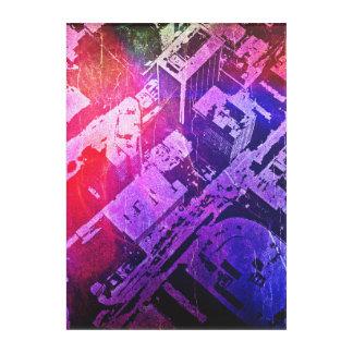 Impression En Acrylique Vue abstraite de Jackson, milliseconde