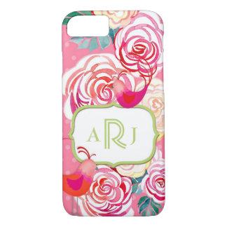 Impression florale faite sur commande de Paisley Coque iPhone 7