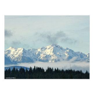Impression Photo 24X18 les montagnes olympiques