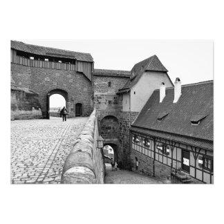 Impression Photo À l'intérieur de la forteresse de Nuremberg