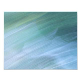 Impression Photo Abrégé sur vert et bleu