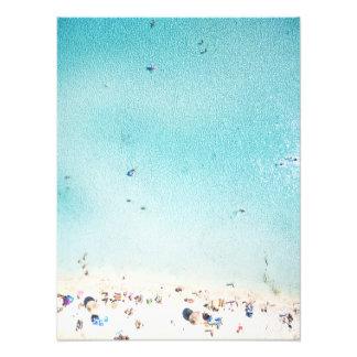 Impression Photo Amusement de plage d'en haut