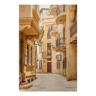 Impression Photo Architecture arabe antique de l'Azerbaïdjan