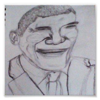 Impression Photo Barack Obama