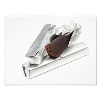 Impression Photo Barres de chocolat
