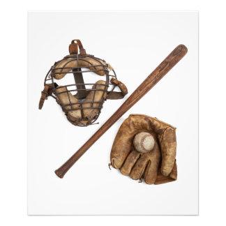 Impression Photo Base-ball vintage