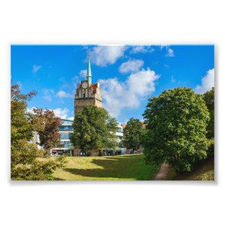 Impression Photo Bâtiment historique à Rostock