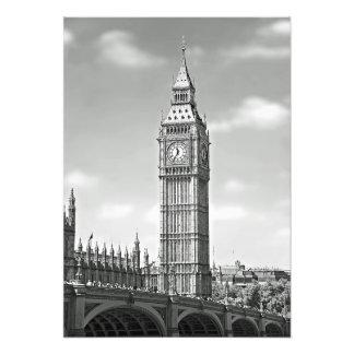 Impression Photo Big Ben et le pont de Westminster