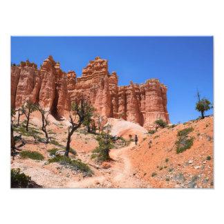 Impression Photo Canyon de Bryce, boucle de conte de fées