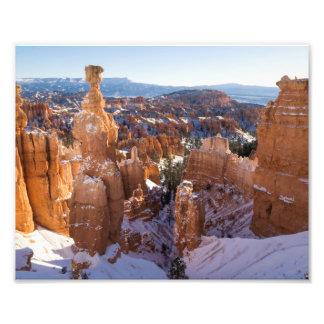 Impression Photo Canyon de Bryce, le marteau du Thor
