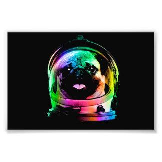 Impression Photo Carlin d'astronaute - carlin de galaxie - l'espace