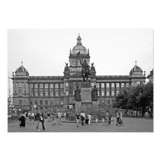Impression Photo Carré de Wenceslas à Prague