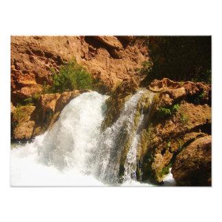 Impression Photo Cascade de canyon