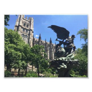 Impression Photo Cathédrale de St John New York City divin NYC