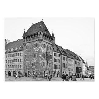 Impression Photo Chambre de Nassau à Nuremberg