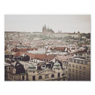 Impression Photo Château de Prague dans la ville de la République