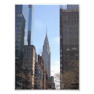 Impression Photo Chrysler établissant le Midtown de gratte-ciel de