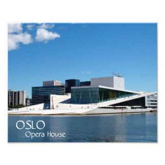 Impression Photo Cieux bleus au-dessus du théatre de l'opéra