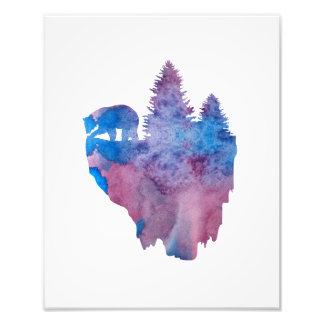 Impression Photo Concernez une île de flottement