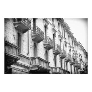 Impression Photo Copie de balcons de Milan