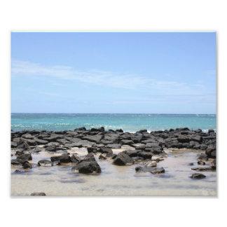 Impression Photo Copie de vues d'océan de Kauai