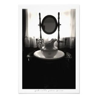 """Impression Photo Copie décorative du lavabo    (13"""" x 19"""")"""