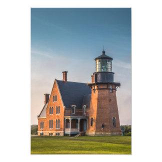 Impression Photo Copie du phare 16x19 d'Île de Block