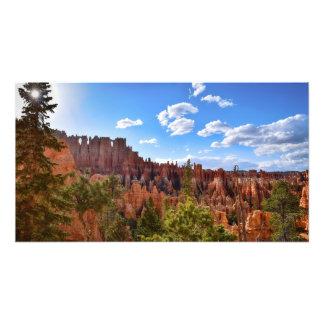 Impression Photo Crépuscule au canyon de Bryce